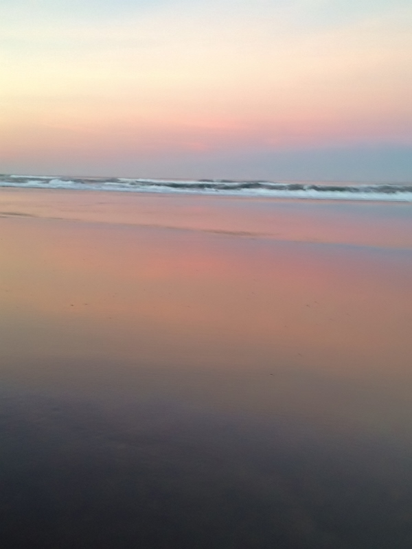 Reflections at Sunrise, Oregon Coast