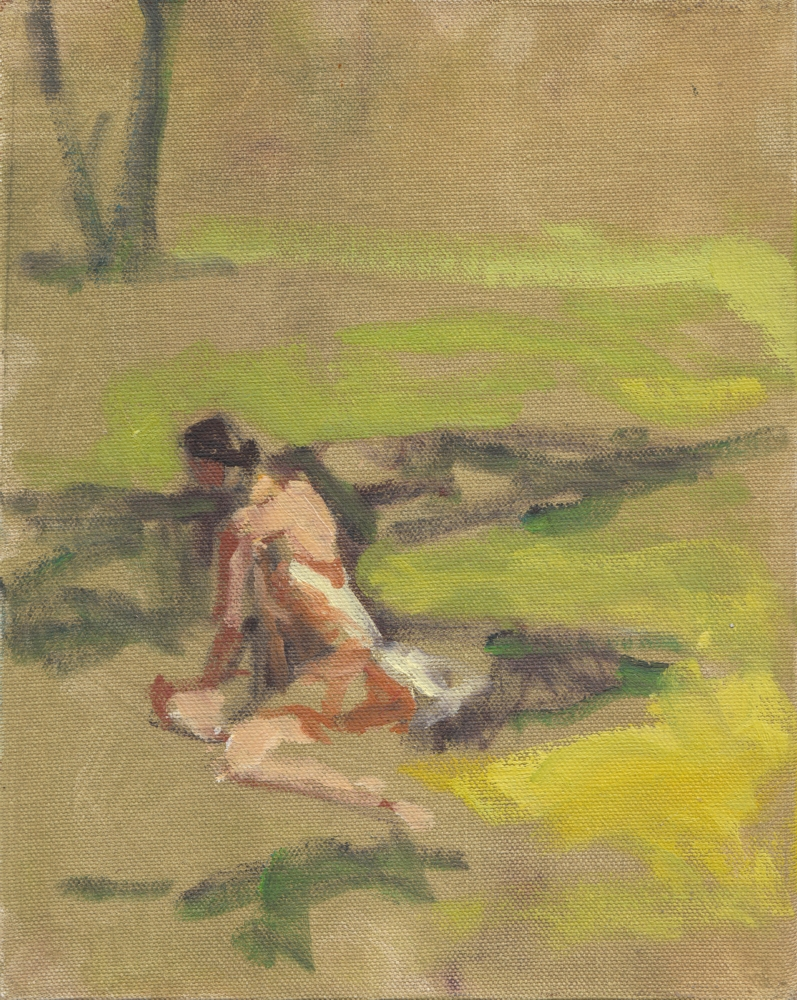Day Three - Figure on Grass