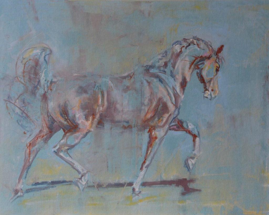 equine art, horse art, Jennifer Pratt