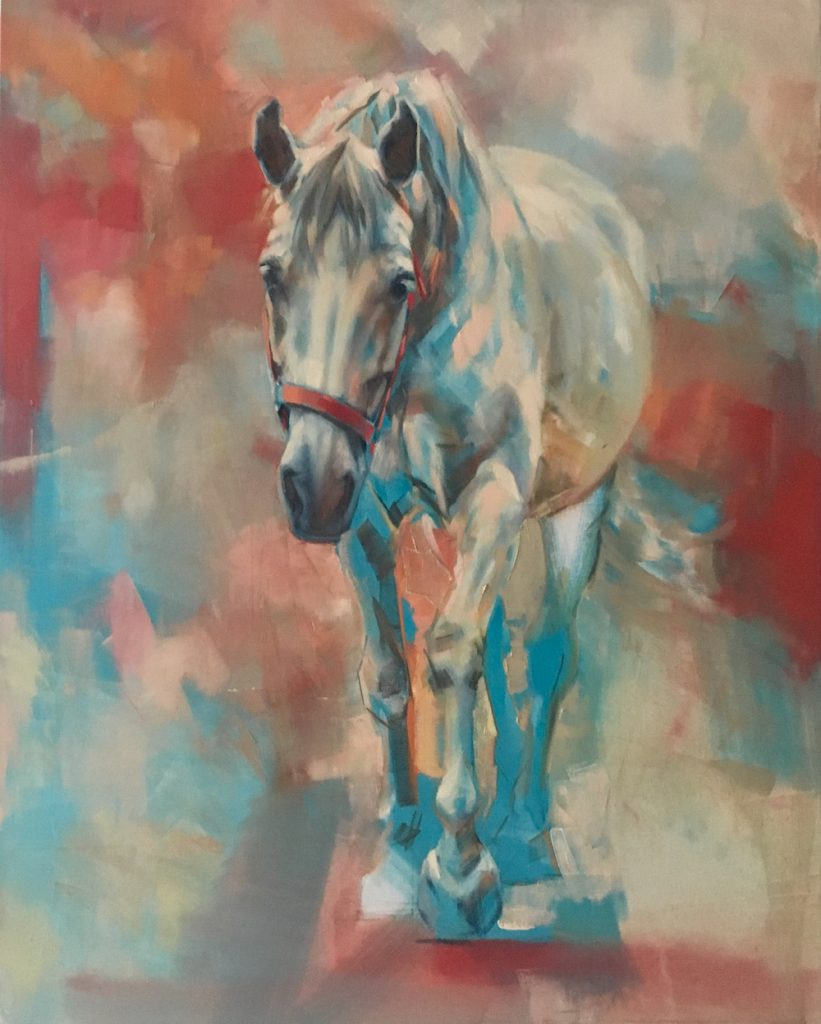 equine art, Jennifer Pratt, contemporary art,