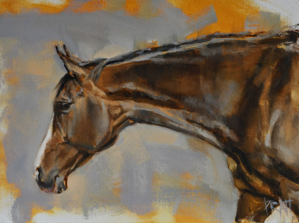 horse-art-oil-painting