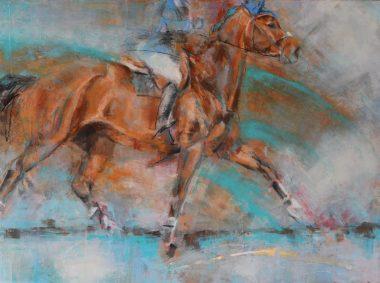 showjumper-equine art-jenniferpratt