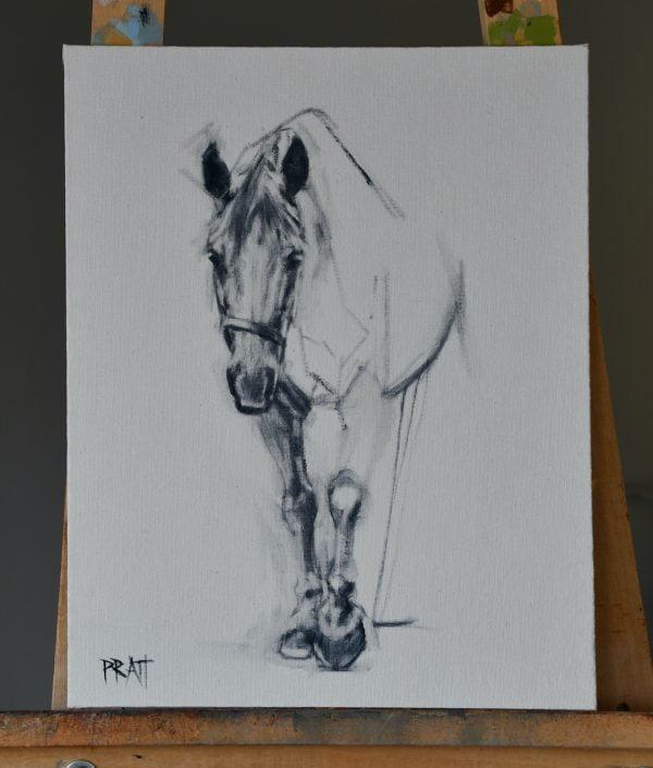 horse-©jenniferpratt-equineart