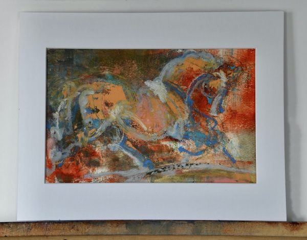 Carousel matted