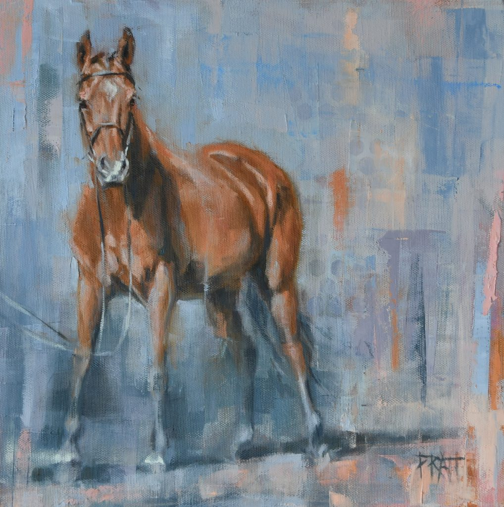 equine art, horse painting