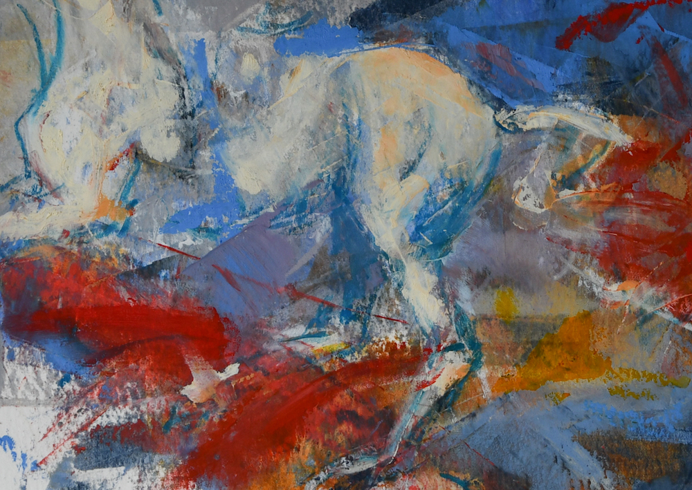 oil-cold-wax-abstract-horse