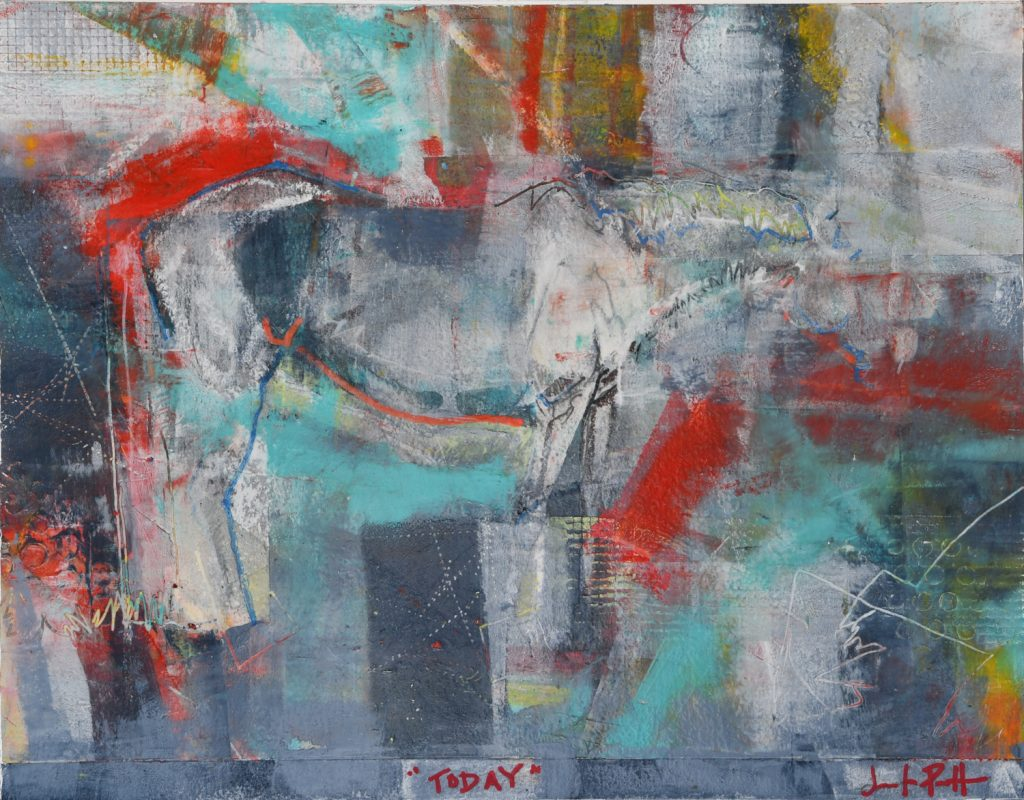 Abstract-horse-art