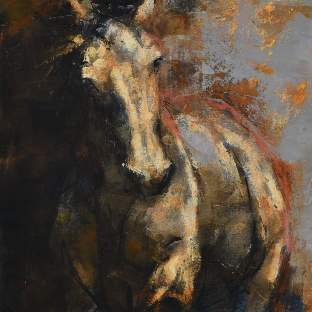 abstract horse ©jenniferprattartist.com