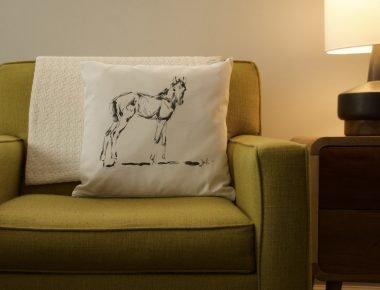 Foal Pillow - Horse - Pillow