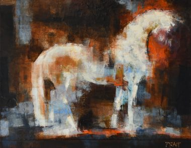 Dream-white-horse©jenniferprattartist