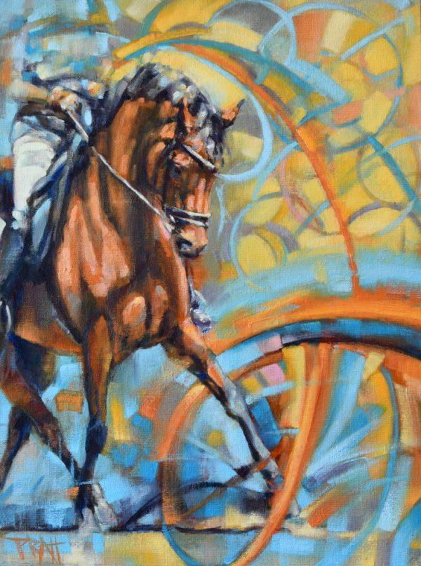 equine art, dressage, jenniferpratt